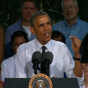 Obama Talks Economy, Slams Republicans