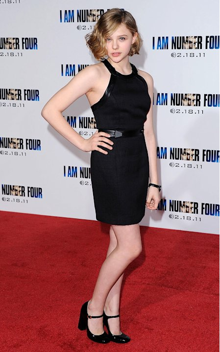 I Am Number Four LA Premiere 2011 Chloe Moretz