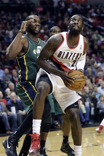 Blazers get 105-99 win over Jazz
