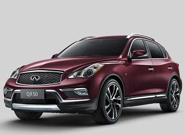 2016 Infiniti QX50 crossover stretches but doesn't reinvent