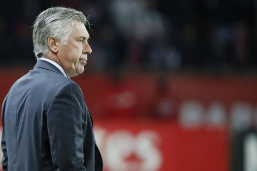 Ancelotti :  Ma volont est de quitter le PSG 