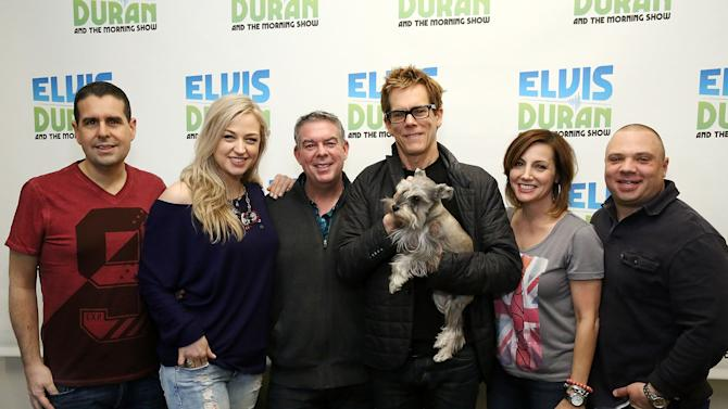 "Kevin Bacon Visits ""The Elvis Duran Z100 Morning Show"""