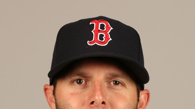 Dustin Pedroia Baseball Headshot Photo