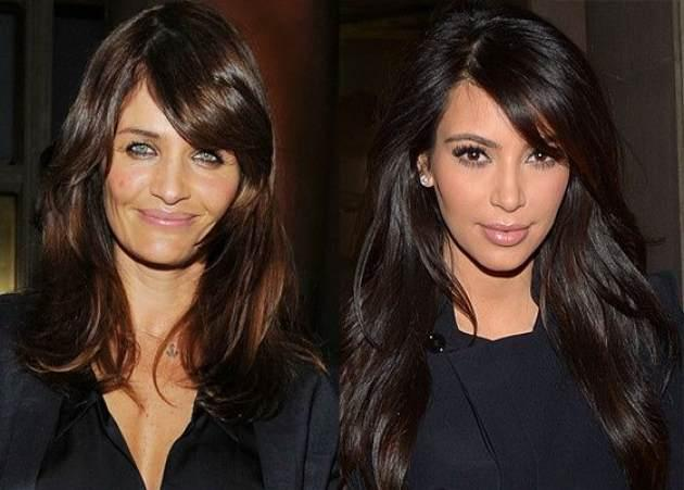 Helena Christensen, Kim Kardashian  -- Getty ImagesStartraks Photo