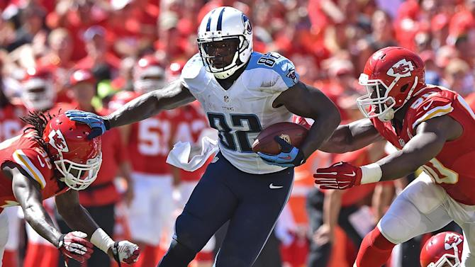 Delanie Walker talks Titans offense
