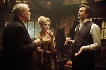 Michael Caine , Scarlett Johansson and Hugh Jackman in Touchstone Pictures' The Prestige