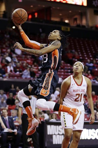 No. 10 Maryland women beat No. 24 Miami 84-62