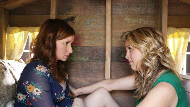 Lennon Parham and Jessica St. Clair on 'Playing House' -- NBC
