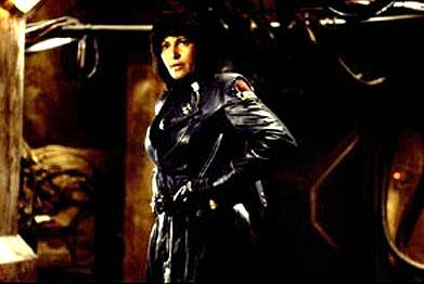 Pam Grier as Helena Bradock in Screen Gems' John Carpenter's Ghosts of Mars