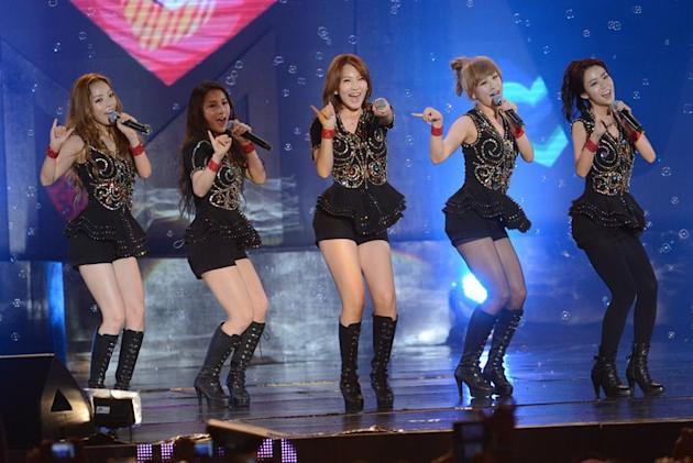 Kara at MTV World Stage