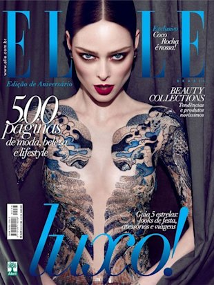 Will Coco Rocha Sue Elle Brazil For Airbrushing Her Bodysuit Off?