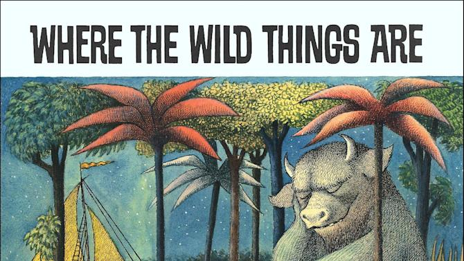 "This image provided by HarperCollins shows the book cover of ""Where the Wild Things Are,"" by Maurice Sendak. Sendak died Tuesday, May 8, 2012 at Danbury Hospital in Danbury, Conn. He was 83. (AP Photo/HarperCollins)"