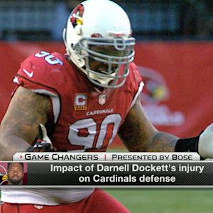 Impact of Arizona Cardinals defensive tackle Darnell Dockett's season-ending injury