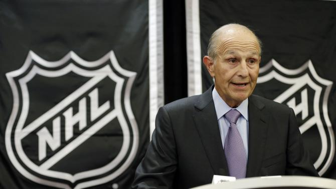 Boston Bruins owner Jeremy Jacobs speaks during a news conference, Wednesday, Jan. 9, 2013, in New York. NHL owners ratified the tentative labor deal on Wednesday. All that now remains is player approval to finally start the hockey season.  (AP Photo/Frank Franklin II)
