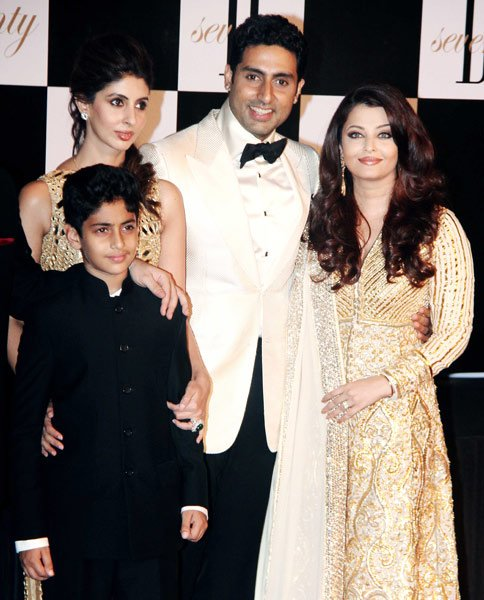 The first family at Big B&amp;#39;s big bash