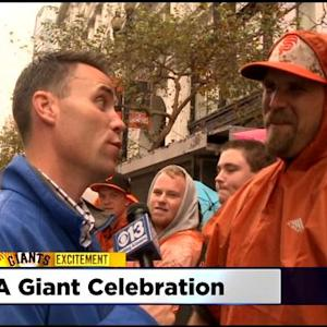 'Giant' Celebration In SF For World Series Parade