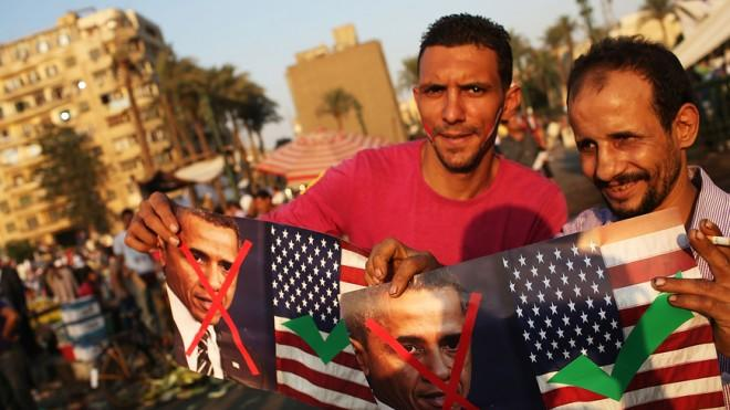 President Obama is not exactly Mr. Popular on the Arab street.