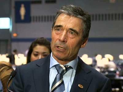 NATO chief: 'No rush for exits' in Afghanistan.