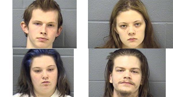 4 young adults charged in Joliet double murder, allegedly tried to dismember bodies