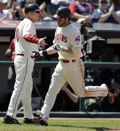 Indians beat Rangers 4-2, hand Darvish first loss