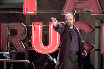 Paul Giamatti in New Line Cinema's Shoot 'Em Up