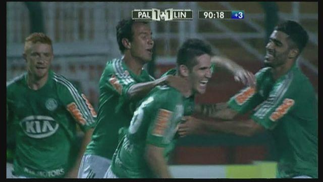 Palmeiras steal late win from Linense [AMBIENT]
