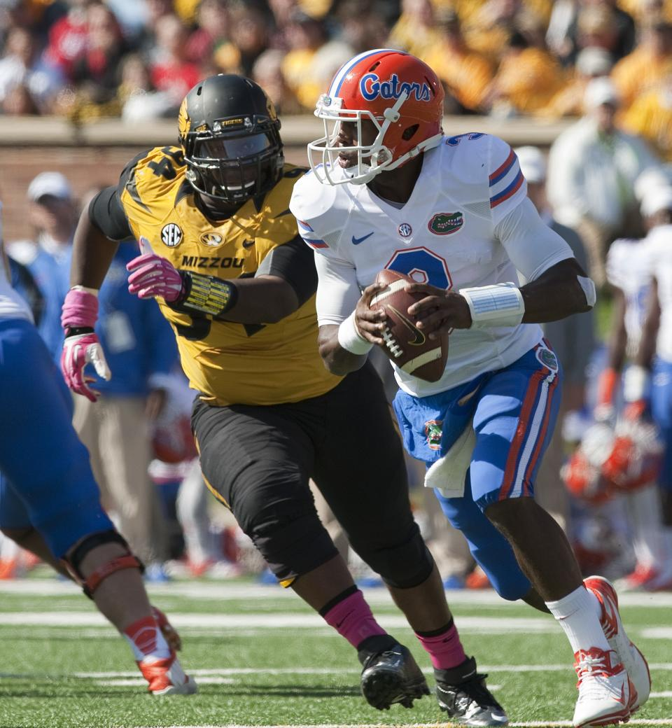 No. 14 Missouri defeats No. 22 Florida, 36-17