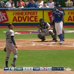Encarnacion's long home run