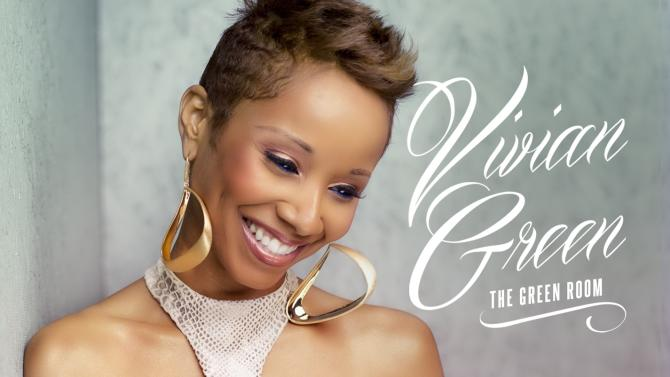 """This CD cover image released by Entertainment One Music shows the latest release by Vivian Green, """"The Green Room."""" (AP Photo/Entertainment One Music)"""
