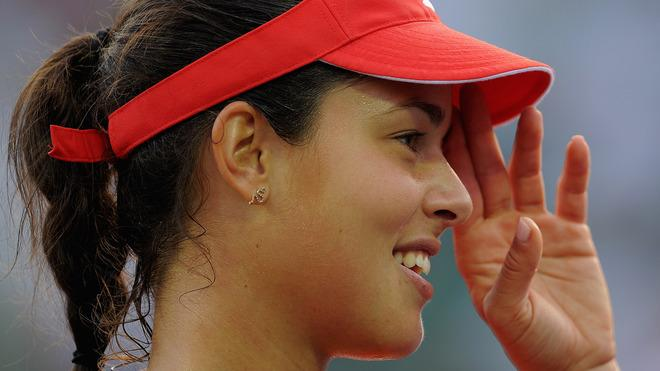 Ana Ivanovic Of Serbia Celebrates Getty Images