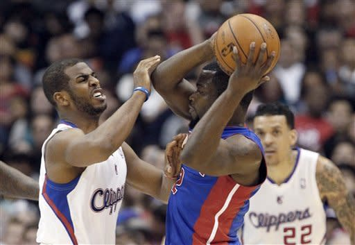 Clippers hand Pistons 5th straight defeat, 129-97