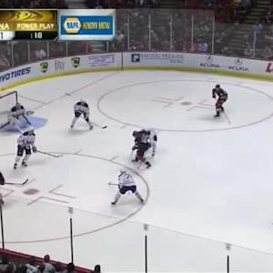 Michal Neuvirth Save on William Karlsson (05:53/2nd)