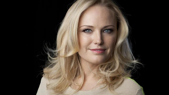 """This Sept. 24, 2013 photo shows actress Malin Akerman in New York. Akerman stars in the ABC series """"Trophy Wife,"""" airing Tuesdays at 9:30 p.m. EST. (Photo by Amy Sussman/Invision/AP)"""