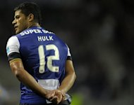 Russian champions Zenit St Petersburg signed much coveted Brazilian international striker Hulk, pictured in August 2012, from Portuguese giants Porto on a five-year contract on Monday, the buying club's official site announced