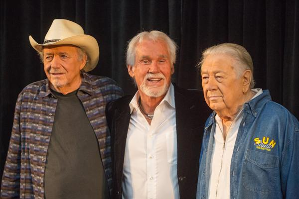 Country Hall of Fame Picks Kenny Rogers, Cowboy Jack Clement, Bobby Bare