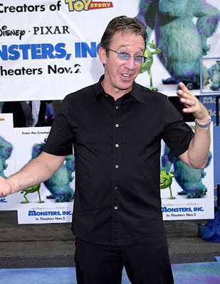 Tim Allen at the Hollywood premiere of Monsters, Inc.