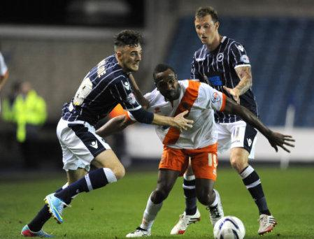 Soccer - Sky Bet Championship - Millwall v Blackpool - The Den