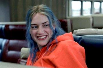 Kate Winslet as Clementine in Focus' Eternal Sunshine of the Spotless Mind