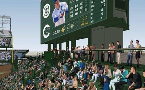 Rumble at Wrigley: Wrigley Field's New Bleachers to Make Debut Next Monday