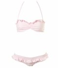 Pale pink gingham Topshop bikini, $55.00