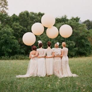 Balloon Wedding Décor