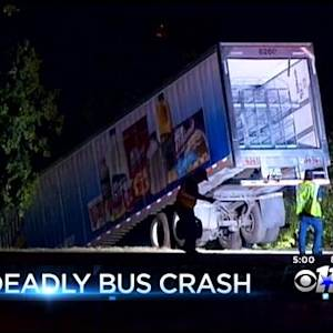 Truck Driver Under Investigation In Deadly Bus Crash