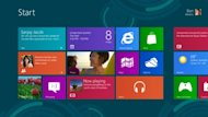 Windows 8 Release Preview Start screen