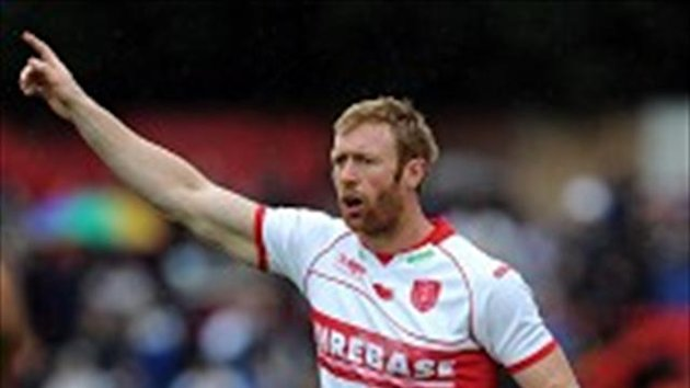 Dave Hodgson scored in the fifth and 77th minute respectively for Hull KR