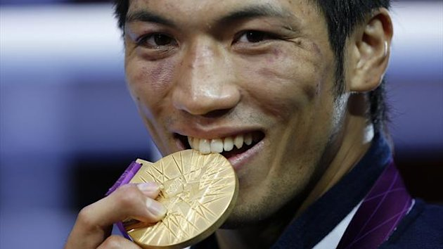 Ryota Murata at London 2012 (Reuters)