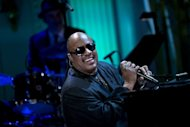 "Stevie Wonder performs during an ""In Performance at the White House"" concert in the East Room of the White House May 9, 2012 in Washington, DC"