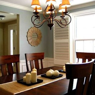Warm, Welcoming Dining Room
