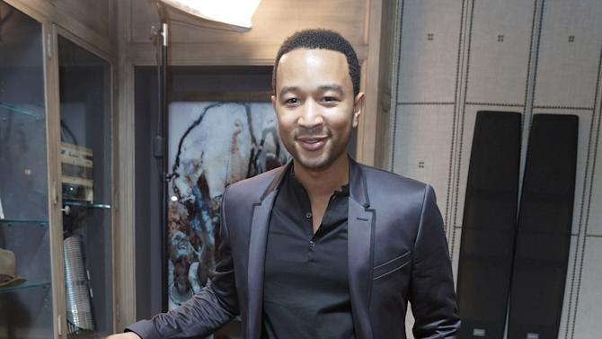 IMAGE DISTRIBUTED FOR SONY - John Legend attends Sony 4k: Live Beyond Definition on Thursday, Nov. 29, 2012, in Los Angeles. (Photo by Jordan Strauss/Invision for Sony/AP Images)