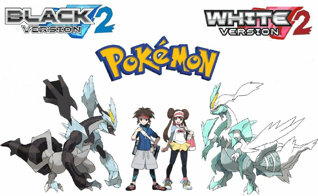Pokemon Black and White 2 Characters