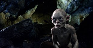 Gollum from The Hobbit: Credit AP
